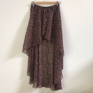 Brandy Melville 90s Floral Skirt - One Size